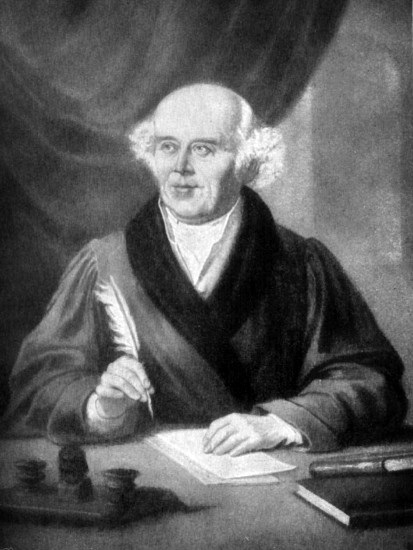 Christian Hahnemann, fondateur de l'homéopathie