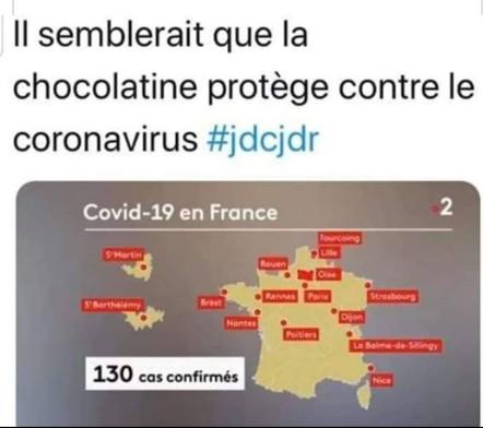 Les Parisiens sont foutus ! Cela n'arriverait pas, s'ils arrêtaient de manger des pains au chocolat 😏