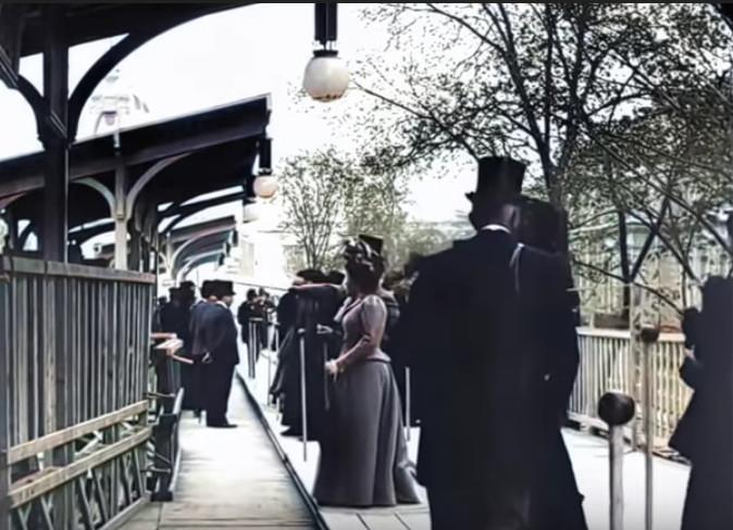 Un trottoir roulant de 3,5 km ! En 1889 !