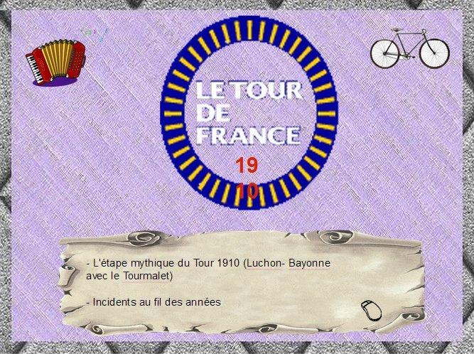 Le tour de France 1910