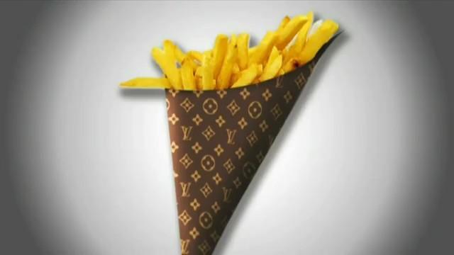 Le cornet de frites Vuitton