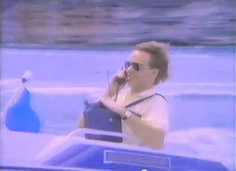 On pouvait même téléphoner en bateau, mais il ne fallait pas se pencher...