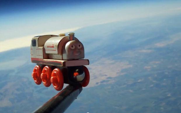 Un jouet dans l'espace