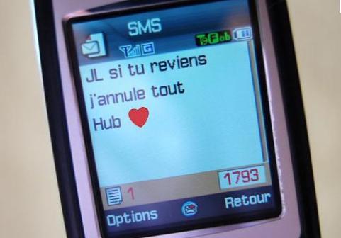 Condamné pour un SMS coquin