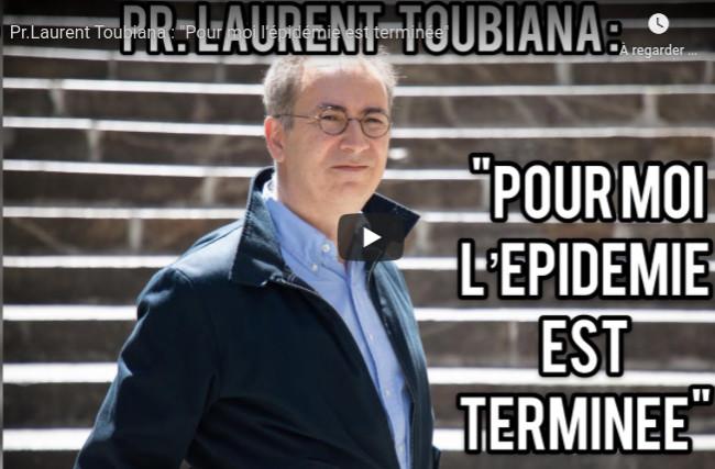 Pour le Professeur Toubiana, l'épidémie est terminée !