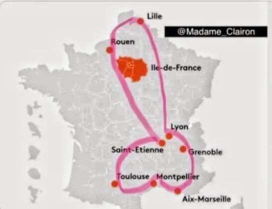 """Sur une idée d'Emmanuel Macron, la première réalisation de Bayrou, Haut commissaire au Plan. Qui a déclaré : """"Je ne suis pas payé cher (rictus) mais je m'amuse bien (sourire). Il a conclu : Les baisés, comptez-vous !"""