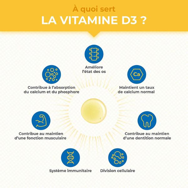 L'importance de la vitamine D pour notre système immunitaire