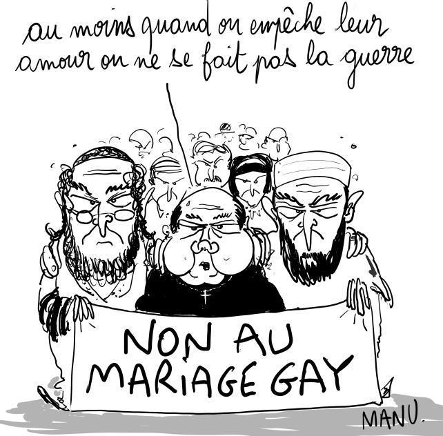 Intox dans la liste de mariage (gay)