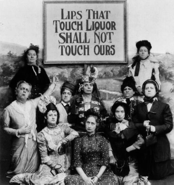 Les lèvres qui toucheront à l'alcool ne toucheront plus les nôtres !