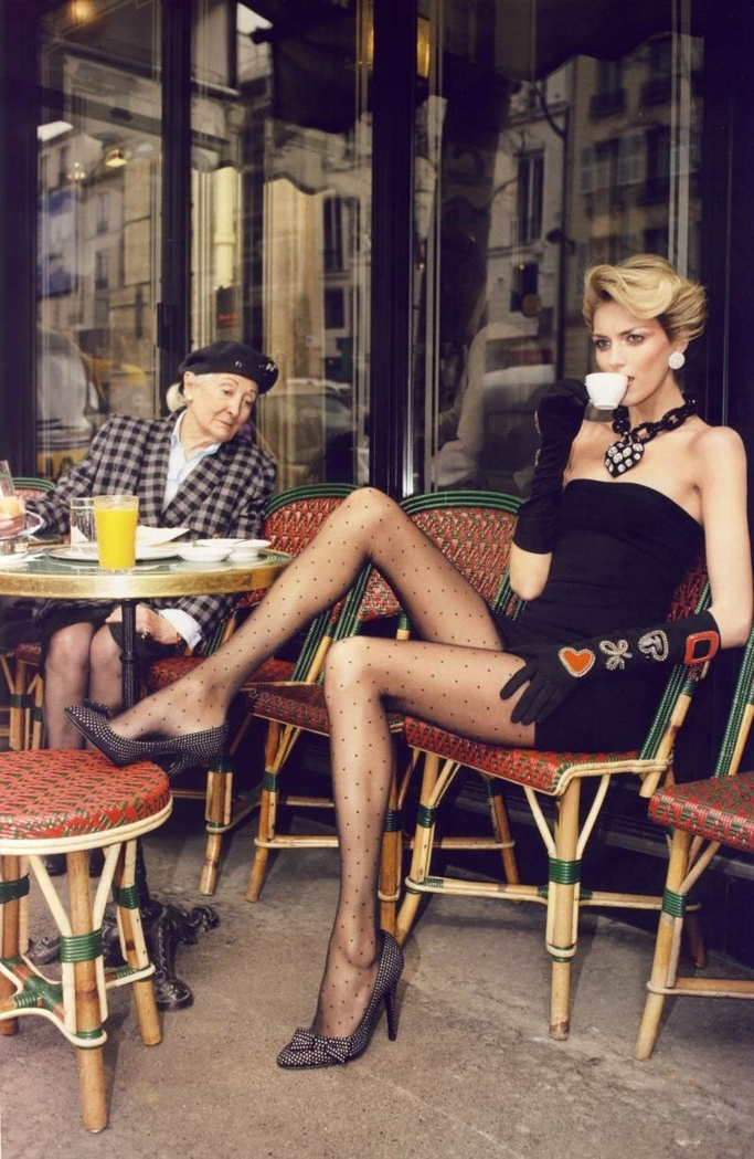 Henri Cartier Bresson Vintage Cliché and Terry Richardson with Anja ...