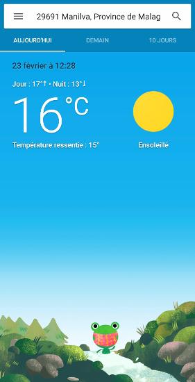 10° sous abri, ça veut dire que sur ma terrasse  il fera plus de 40° pour mon bain de soleil quotidien