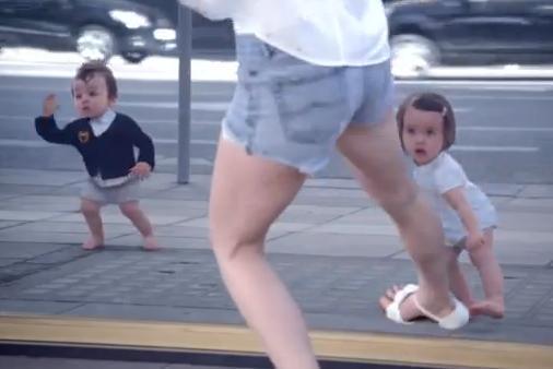 Quand les bébés dansent...