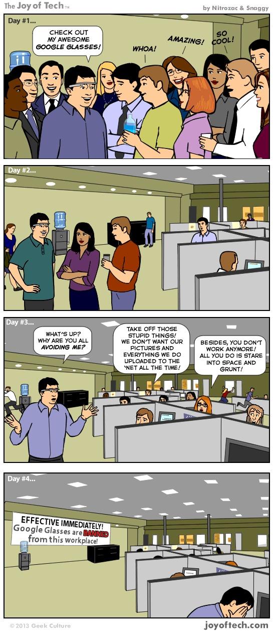Des Google Glass aux Evil Glass ?