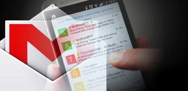 Les nouveautés de la mise à jour de Gmail pour Android