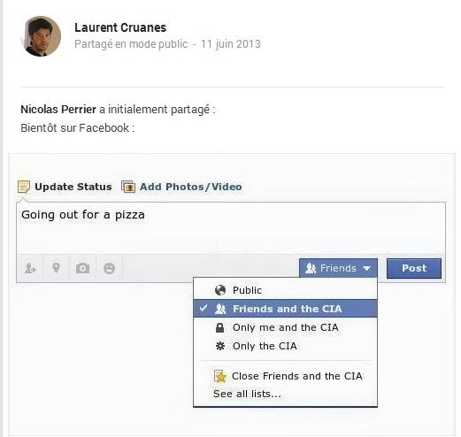 Les nouveaux statuts sur Facebook