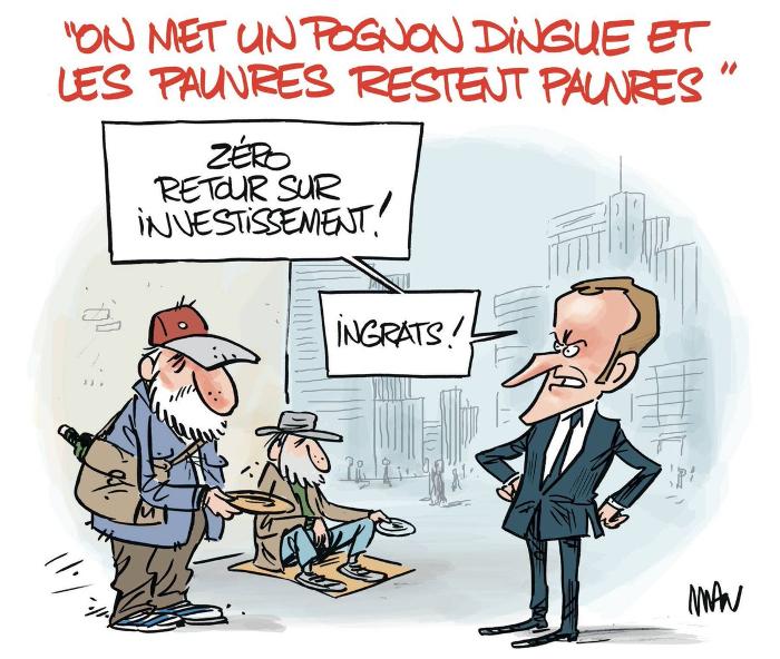 Après l'État providence pour les pauvres, l'État providence pour les riches !