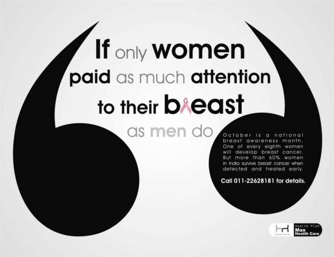 Si les femmes prêtaient à leurs seins autant d'attention que les hommes