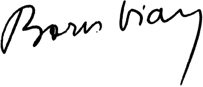 Boris Vian : Je voudrais pas crever