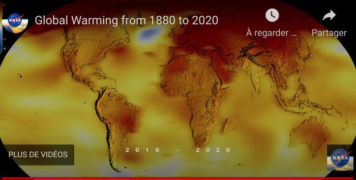 Situation  2020 ! Voir plus bas l'évolution depuis 1880