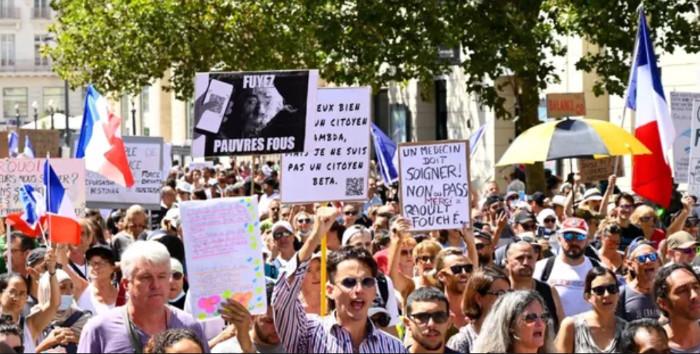 Sixième mobilisation anti-pass sanitaire en France