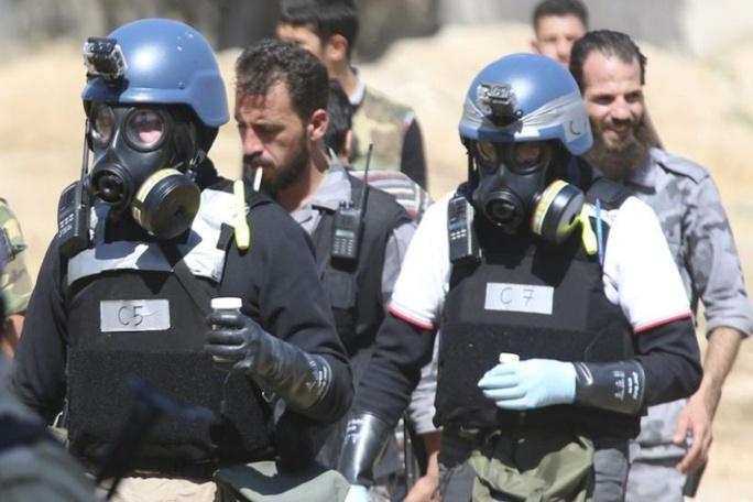 Les experts ont confirmé l'usage du gaz sarin contre la population, près de Damas, le 21 août.