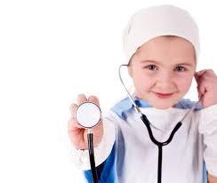 Quand les enfants jouent au docteur...