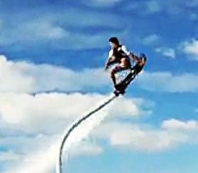 Un nouveau sport : l'hoverboard