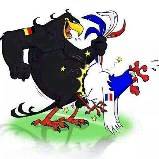 Le football est un jeu qui se joue à 11 contre 11 et au début c'est toujours l'Allemagne qui gagne !