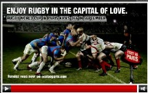 Paris en Septembre : capitale du rugby...et de l'amour !