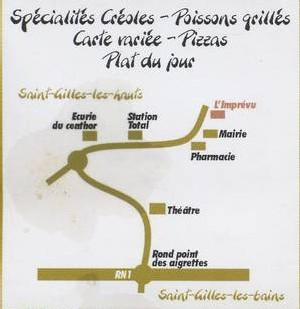 Un restaurant qui saura vous surprendre : l'Imprévu, à Saint Gilles les Hauts (Ile de la Réunion)