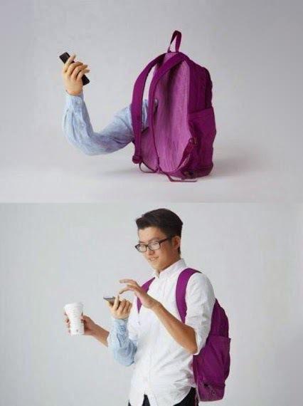 Le sac à bras : indispensable à la machine à café