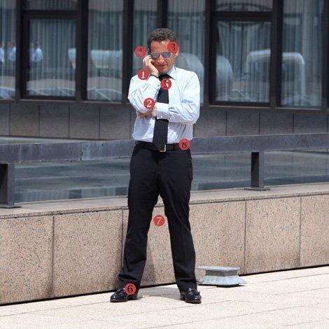 Nicolas Sarkozy décline sa «politique de civilisation» (Titre du Figaro du 08/01/08 )
