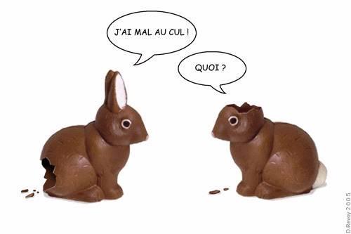 Pâques, c'est pas la fête à tout le monde !