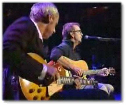 Les deux meilleurs guitaristes du monde réunis