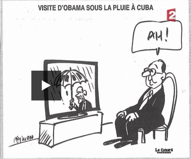 C'est vrai que pour un président qui ne se mouille jamais Hollande n'a pas eu de chance avec la météo. Avec le reste non plus, mais les français ont pu vérifier qu'il ne suffit pas d'être chanceux pour être un bon président.