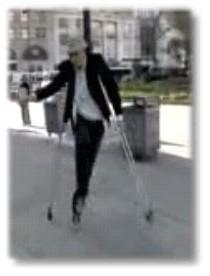 Les béquilles sont elles un handicap ?