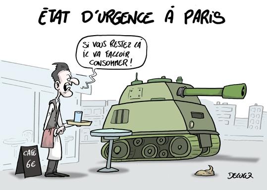Le programme sécuritaire de Cruz et de Trump est déjà appliqué quelque part… et ce quelque part, c'est la France !