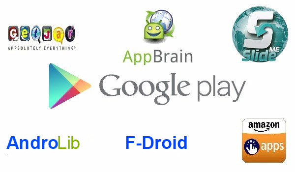 Alternatives au Playstore de Google et comment les installer.