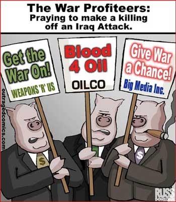Pendant le business la guerre continue