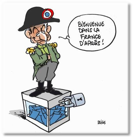 Sarkozy est tout, sauf fou !