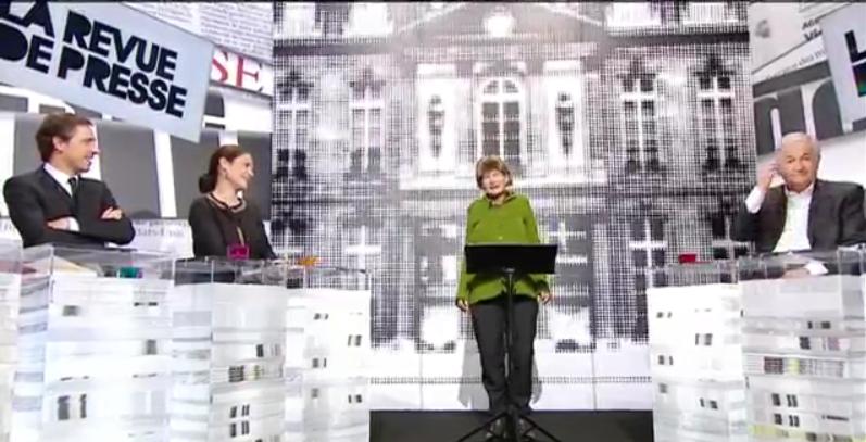 Merkel et son petit Chamallow