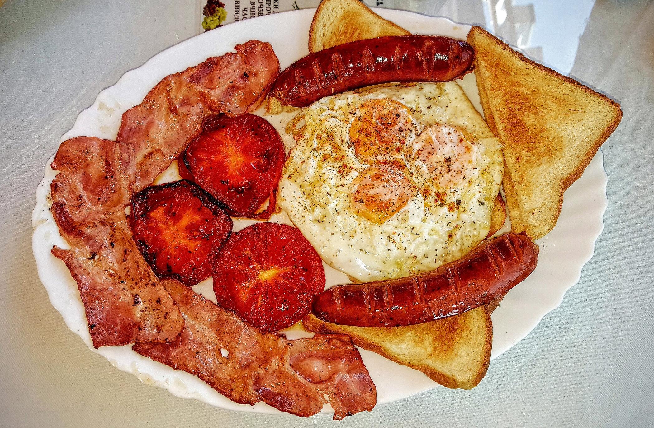Mon petit déjeuner journalier