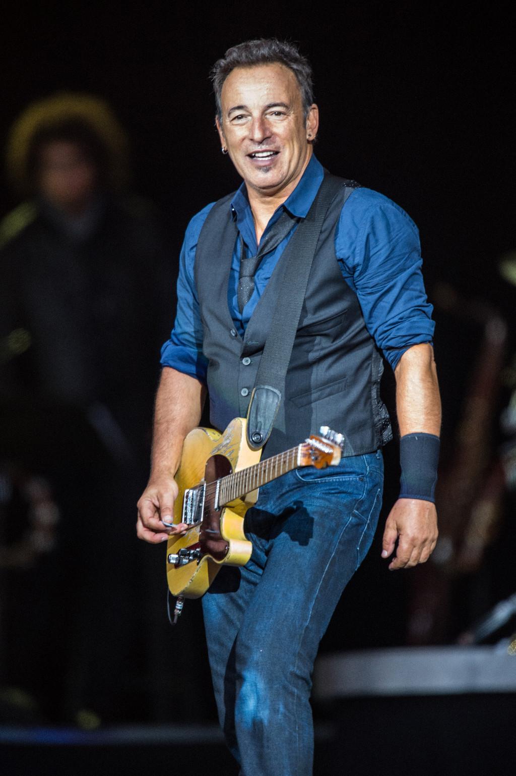 """Bruce Springsteen est plus que jamais """"The boss"""""""