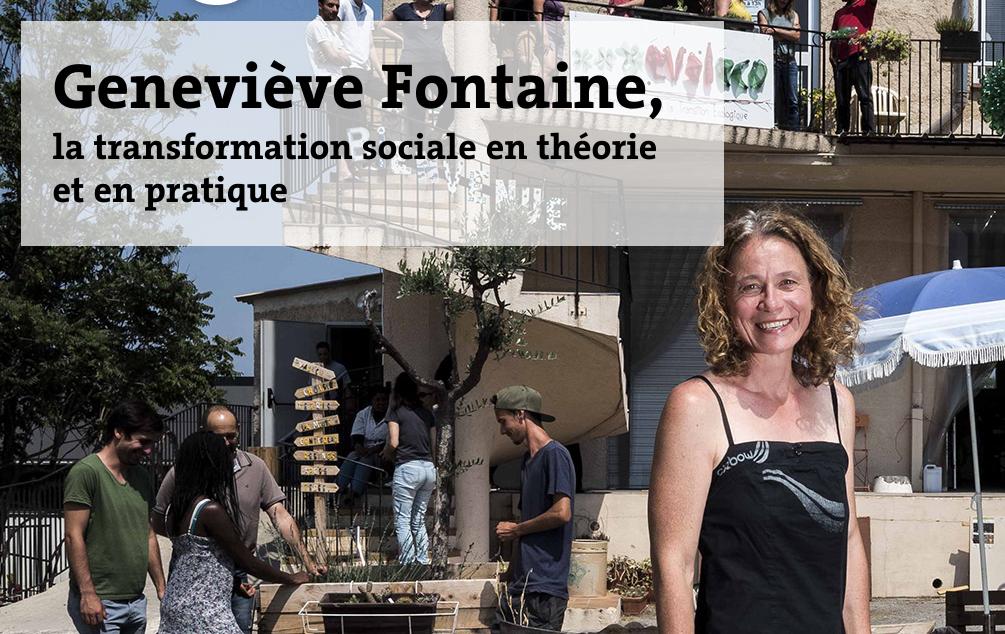 Geneviève Fontaine, la transformation sociale en théorie et en pratique