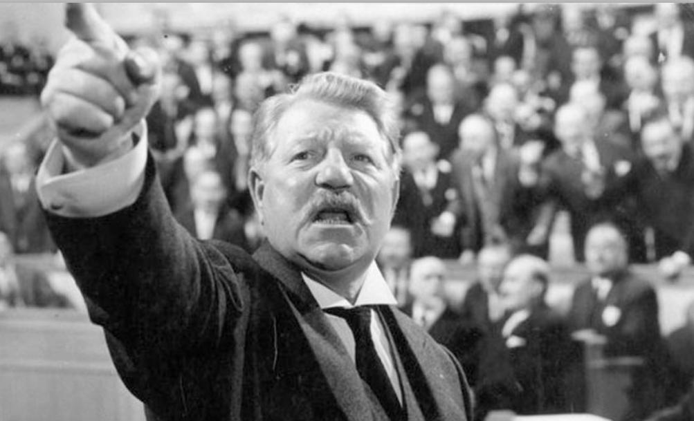 1961 : Jean Gabin dans Le Président : des paroles sur l'Europe prémonitoires...