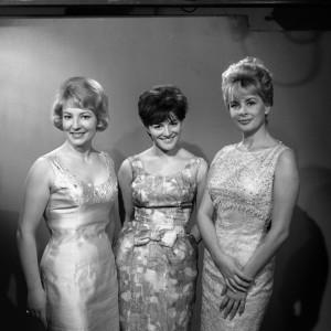 Les présentatrices des années 60