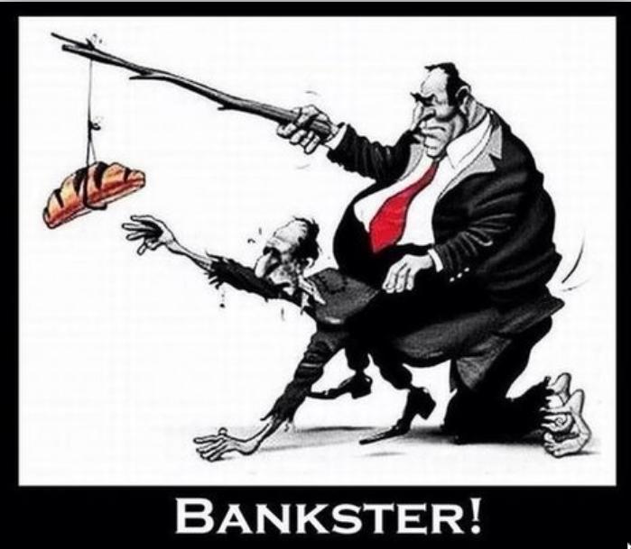 20 % des bénéfices bancaires proviennent du racket sur les découverts !