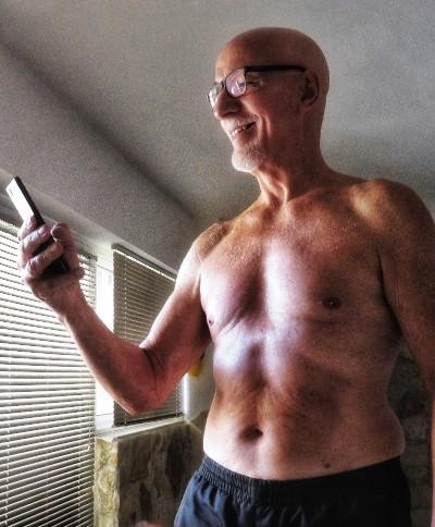 Photo prise le jour de mes 71 ans