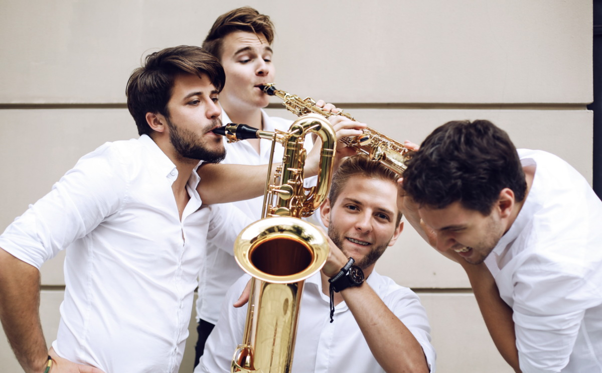 The Whoop group : 4 saxophonistes polonais de talent