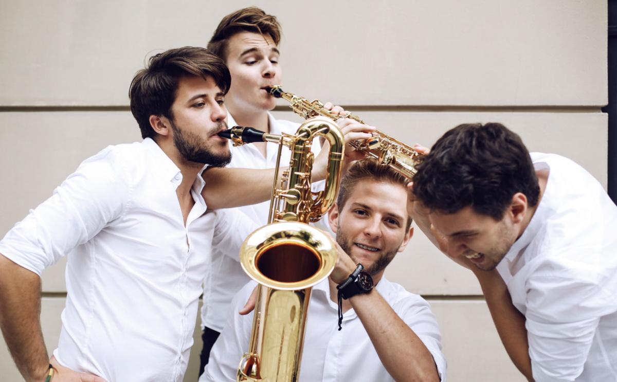 The Whoop group : 4 saxophonistes polonais de talent